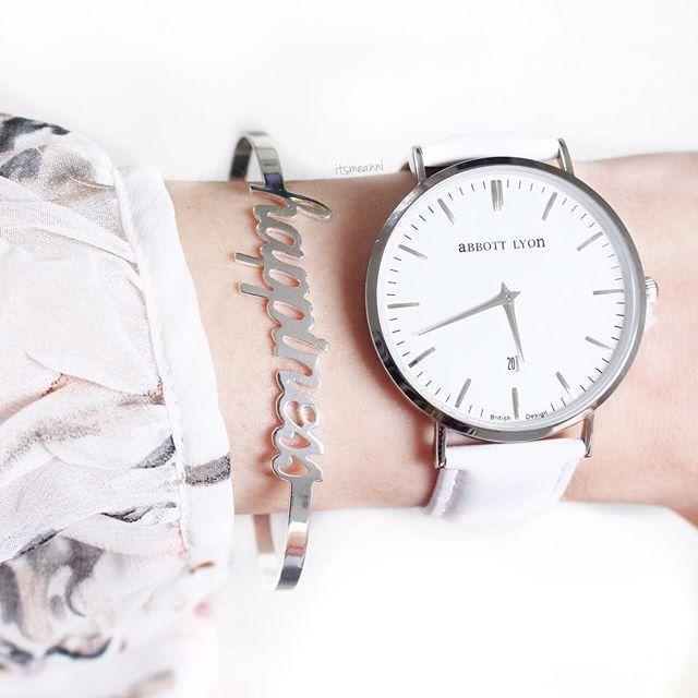 Glück Armband Silber Farbe – Frauen Mode