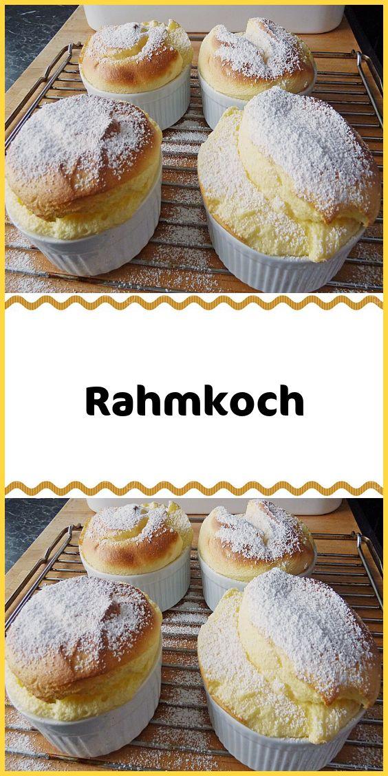 Rahmkoch   – Kuchen & Torten Rezepte