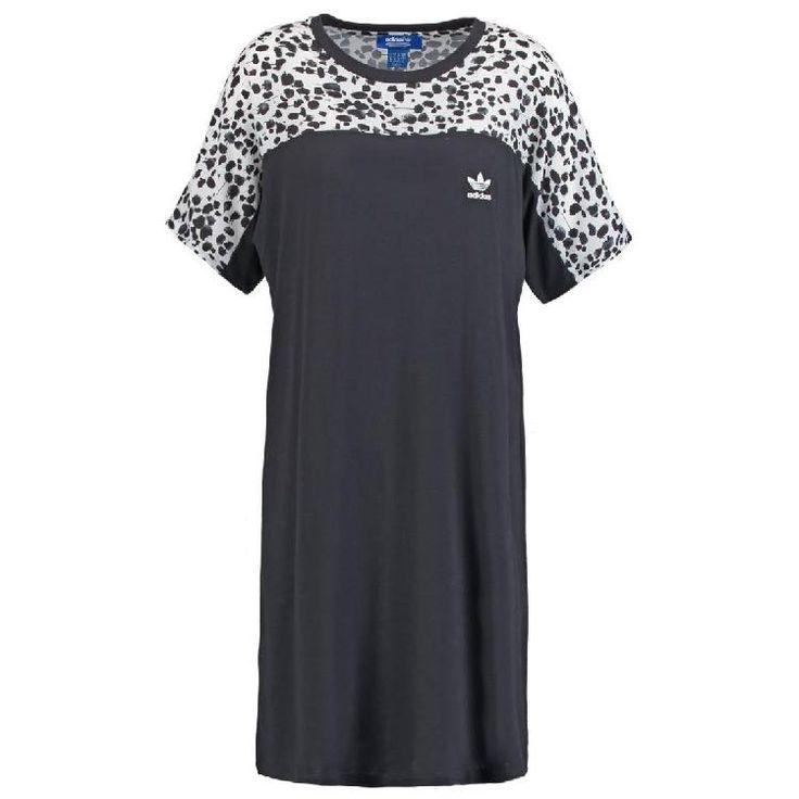 INKED  - Jerseykleid - black/white by adidas Originals