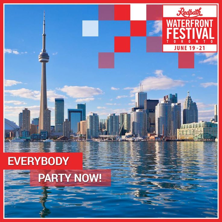 Get ready to Partay on #TOwaterfront at #RWF & #POP15.