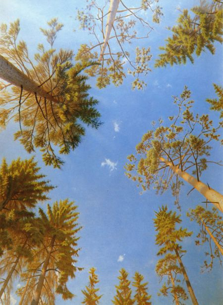 ERIK BULATOV http://www.widewalls.ch/artist/erik-bulatov/ #conceptual #art #hyperrealism #illustration