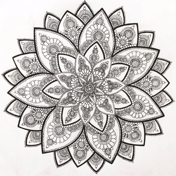 Myartwork Art Drawing Draw Mandala Circle Circular