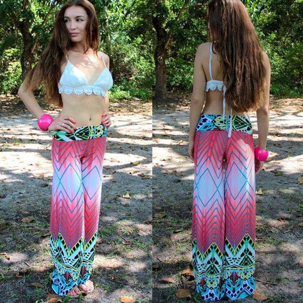 Printed Zen Indian Hippie Yoga Pants