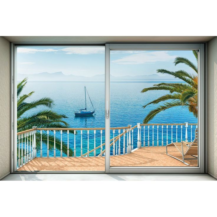 "Tranquillo 145' x 98"" 4 Piece Wall Mural"
