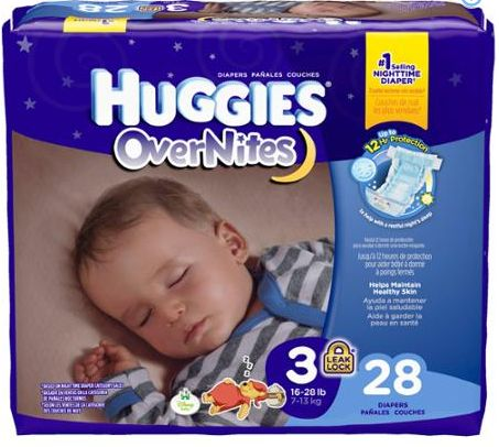 Score $2 off any Huggies overnights diapers