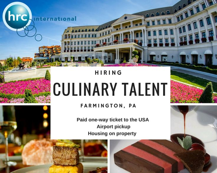 Gain essential culinary skills at this beautiful 4* Resort! Rotate through all of the kitchen, from Sauce/Soup station, Garde Manger, Hot Appetizer Station, and Meat/Grill station (hot line)!