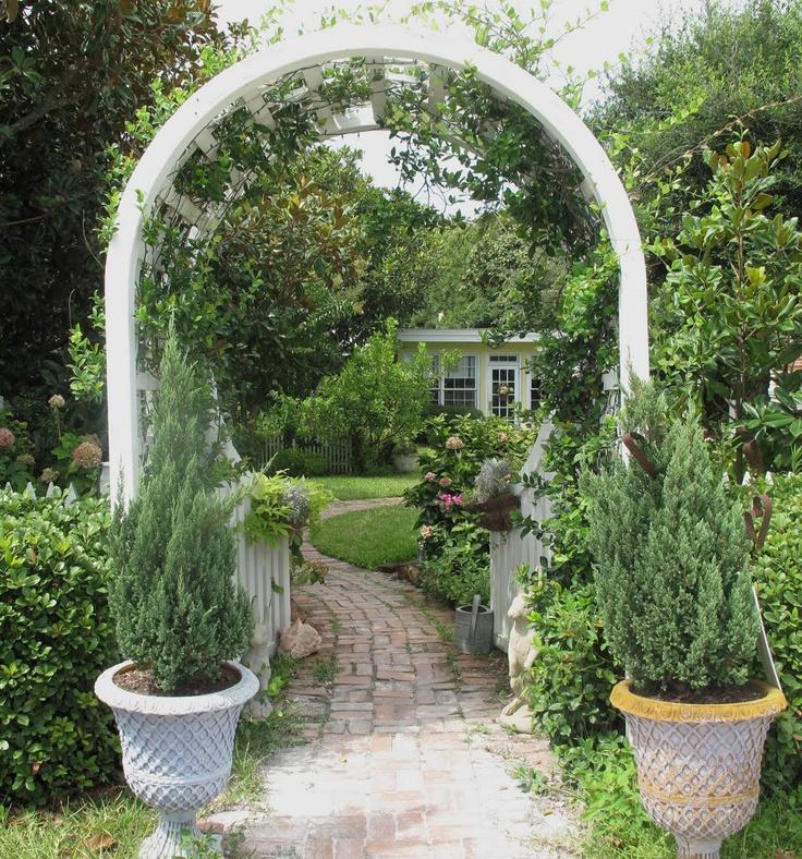 33 best Arches images on Pinterest Garden arches, Backyard ideas
