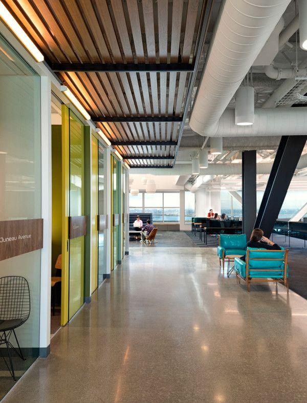 creative office space. a creative office space for company