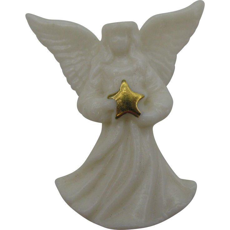 Lenox Angel pin.   https://www.pinterest.com/clarasjewelry/christmas-on-ruby-lane/