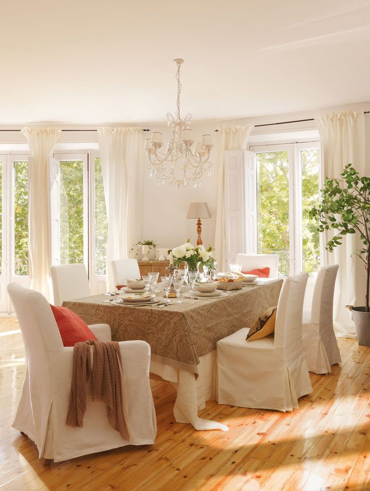 Mejores 123 im genes de sala comedor living room dining - Sweet home decora ...