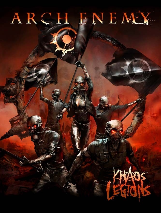 Arch Enemy Khaos Legions Poster Flag