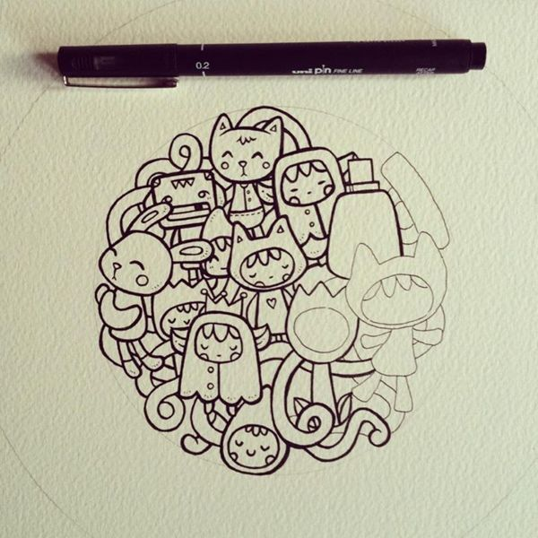 25 beautiful cute doodle art ideas on pinterest cute for Love doodles to draw