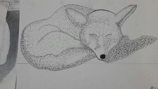 Wolf pointilism
