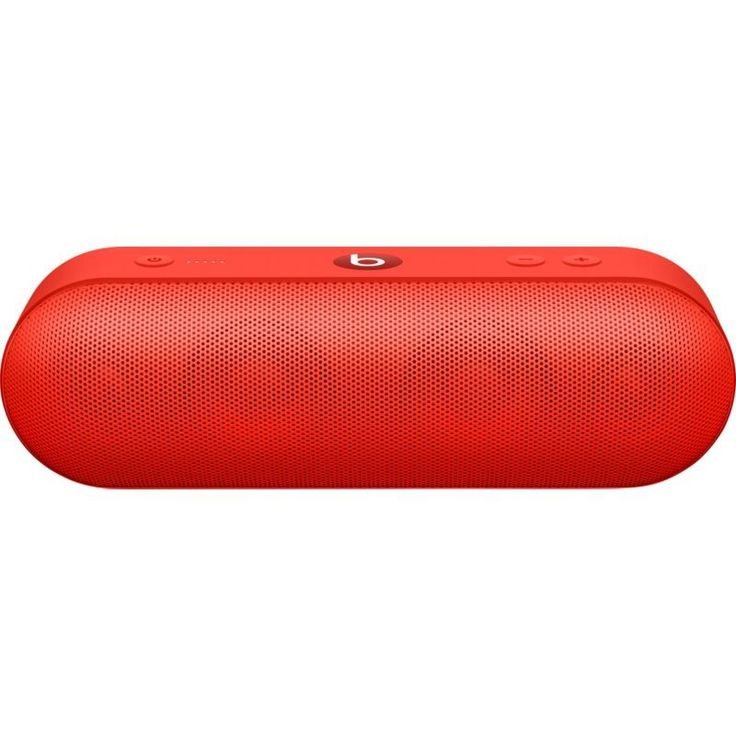 Beats by Dr. Dre Pill+ Portable Speaker, Citrus Red