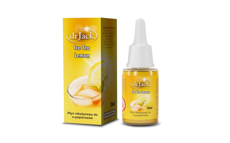 Liquid dr Jack 10 ml - Ice Tea Lemon Zapal-E