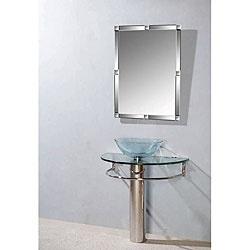 Mensa Modern Stainless Steel Bathroom Vanity