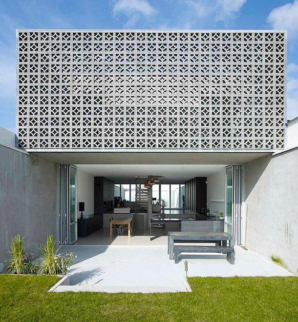 Garden design front of house - Minimalista Celos 237 A Gris Blanco V 237 A Www Interioresmin