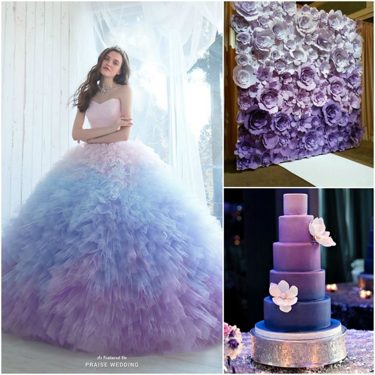 Obsessed with the ombre trend? Make your quinceanera stand out from the rest following the hottest trend of the year! From colorful venue decor to dresses, take a look at the cutest ombre quinceanera ideas.