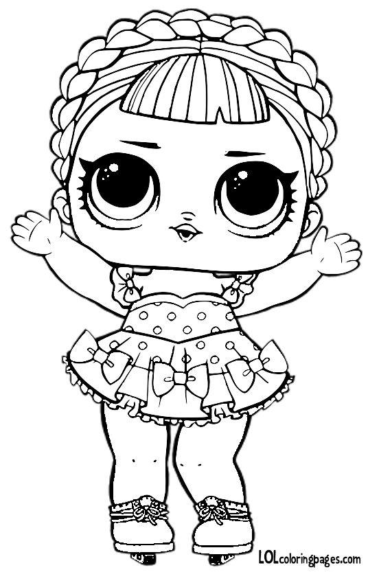 28 Best Lol Surprise  Dolls Series 1 Coloring Pages Images