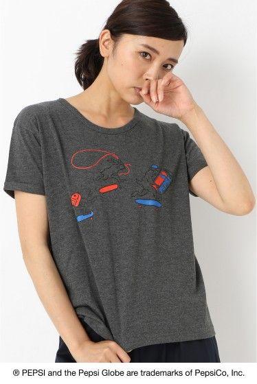 PNAGABA Tシャツ2  PNAGABA Tシャツ2 3000 PEPSI?B.C STOCK B.C STOCKは世界で最も有名なブランドの一つでもある Pepsi-Colaとアートをテーマに 国内人気アーティスト4名を起用したスペシャルコラボレーションを展開致します これまでの象徴的な広告キャンペーンを通じてPepsi-ColaはSPORT ART MUSICの世界とのきずな つながりを確立しています今回のコレクションでは遊び心を取り入れたPepsiのつながりであるARTから インスピレーションを得ています Pepsiをテーマに国内人気アーティストの書き下ろしアートワークを使用したTシャツを発売致します 長場 雄1976年東京生まれ東京造形大学卒業 人物の特徴を捉えたシンプルな線画が持ち味でInstagramに毎日1点作品をアップしている広告書籍パッケージデザインアパレルなど幅広く活動中 モデルサイズ:身長:166cm バスト:80cm ウェスト:58cm ヒップ:82cm 着用サイズ:フリー