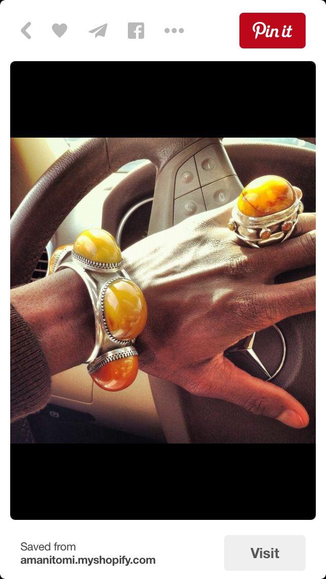 Beautiful amber set