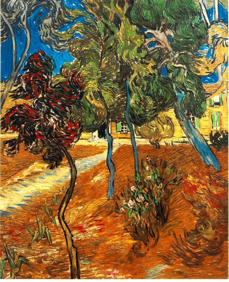 ALONGTIMEALONE: peira: bofransson: Vincent van Gogh:  Trees in...