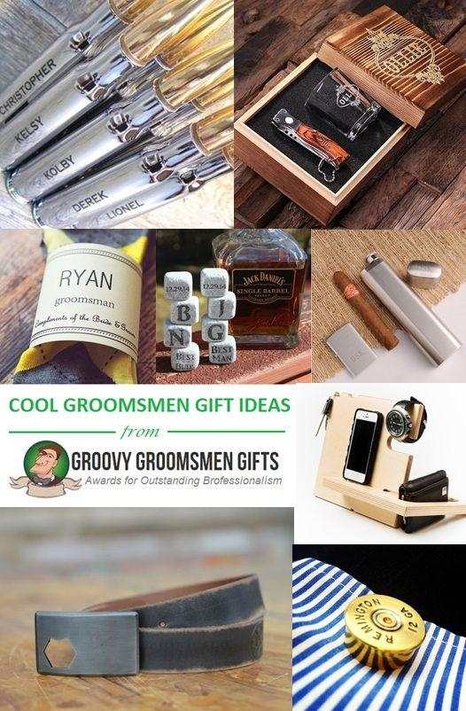 Cool groomsmen gifts are the gifts that are a bit out of the box, a bit less…