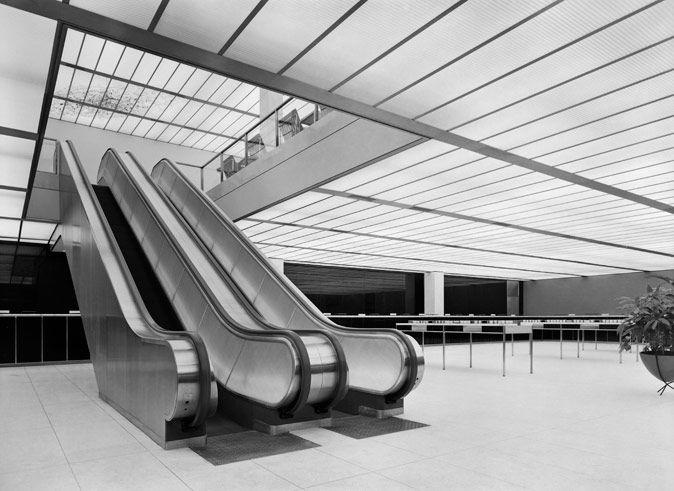 The North Elevation: Classic Spaces: Harry Bertoia x Gordon Bunshaft: Manufacturers Hanover Trust Building