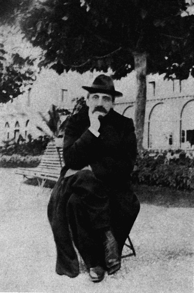 Marcel Proust à Evian, Hôtel Splendide, 1905. His mother fell ill on this visit and died soon after returning to Paris.