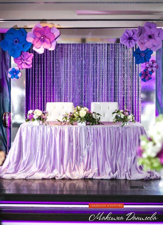 Все оформление банкетного зала, ресторана, захватывающий декор для вашей свадьбы по лучшим ценам в Москве и московской области вместе со свадебным агентством Максима Данилова.