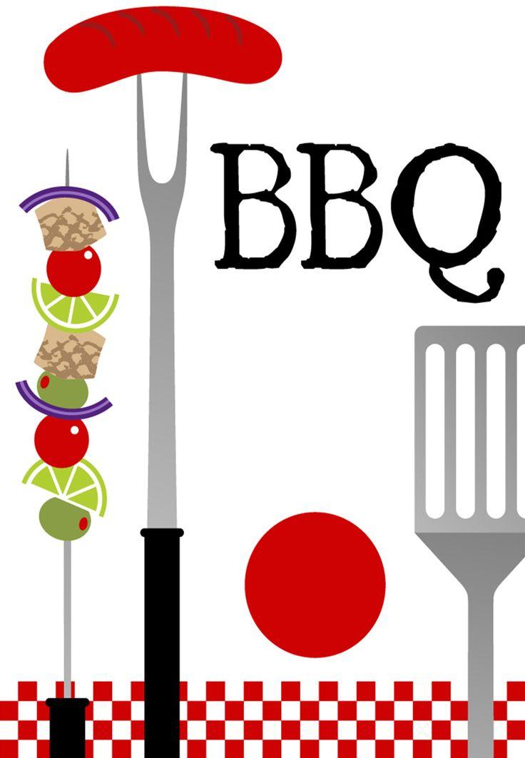 Best Invitations Images On Pinterest Invitations Backyard - Backyard bbq party cartoon