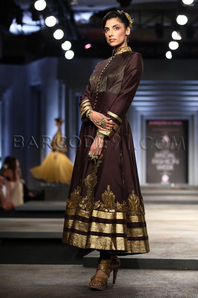 Shantanu and Nikhil 's Collection At Indian Bridal Fashion Week 2013