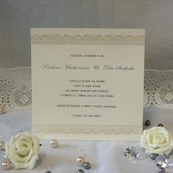 Svatební oznámení W551a