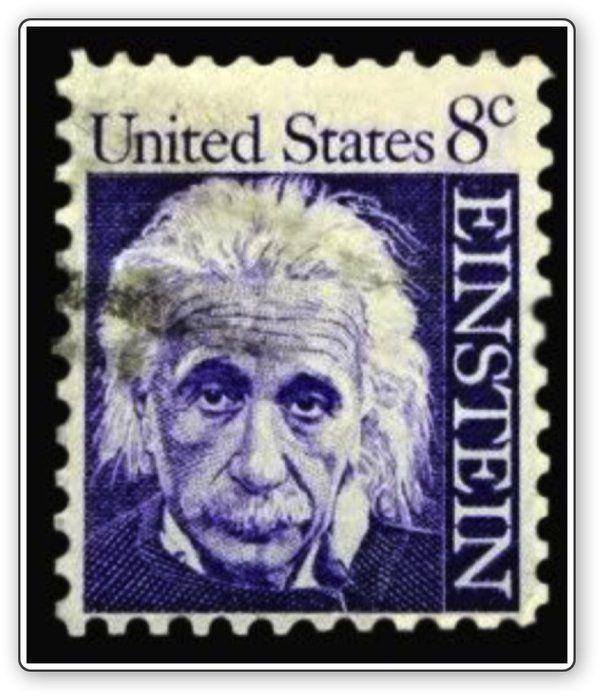 Albert Einstein  #stamps #science