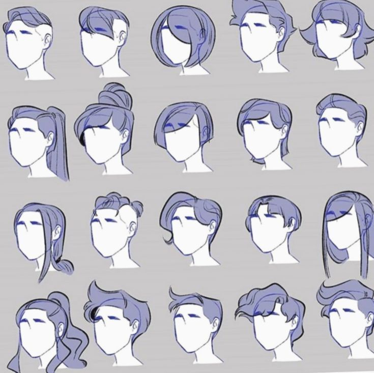 Anime Character Design Anime In 2020 Art Reference Photos Art Reference Poses How To Draw Hair