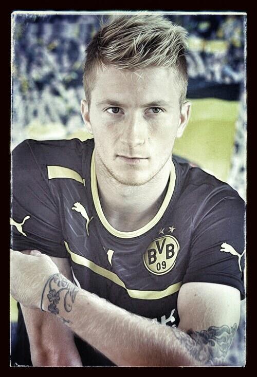 Marco Reus. The brightest star of Borussia Dortmund.