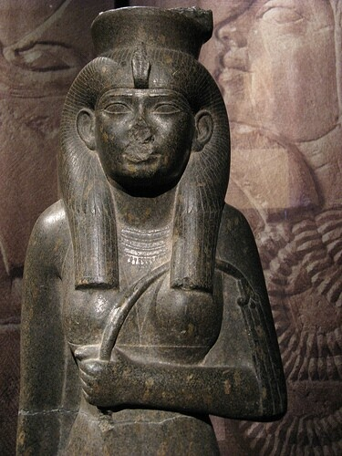 Shepenupet II (alt. Shepenwepet II) was an Ancient Egyptian princess of the Twenty-fifth dynasty and theDivine Adoratrice of Amun from around 700 BC to 650 BC. She was the daughter of the first Kushite pharaoh Piye and sister of Piye's successors Taharqa and Shabaka. She was adopted by her predecessor in office, Amenirdis I, a sister of Piye. Shepenupet was God's Wife from the beginning of Taharqa's reign until Year 9 of Pharaoh Psamtik I.