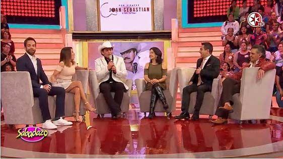 José Manuel Figueroa conmovido, Diego de Erice cantando, Adalberto Parra, Arcelia Ramírez y más de Por siempre Joan Sebastian