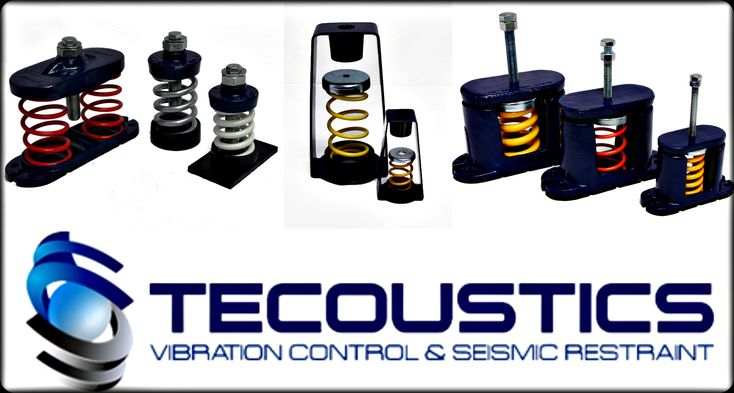 Tecoustics Ltd. offers vibration and acoustic control with a large variation of design, supply and application of Mason Industries products. #Vibration #Acoustics http://www.tecoustics.com/