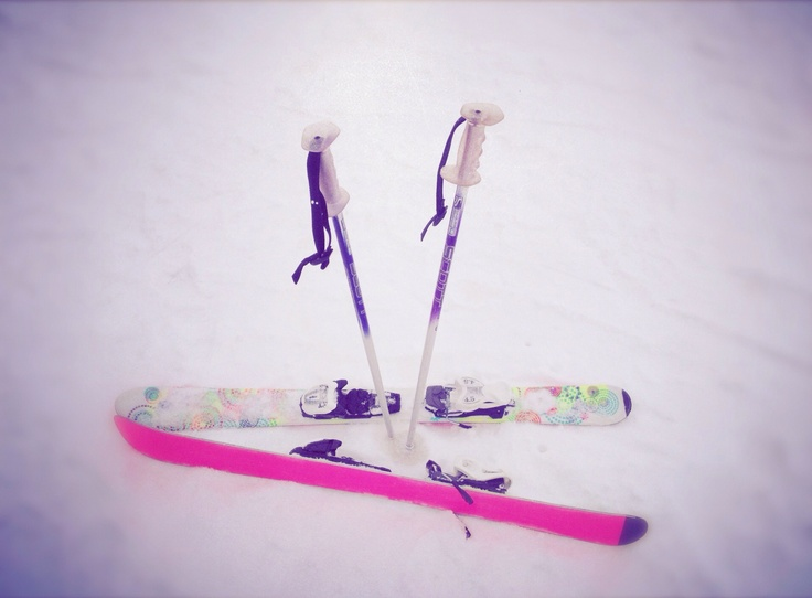 Cutest baby skis everrr!