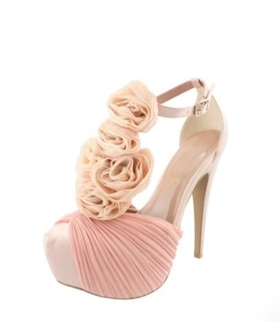 Blush Shoes by SHii