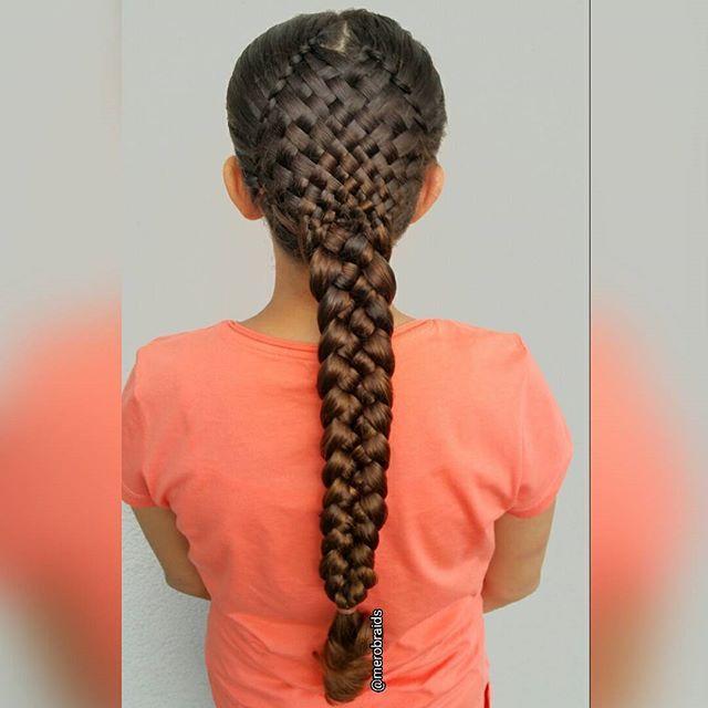 A Weaver With A Five Strand Female Braid Possibly Dori