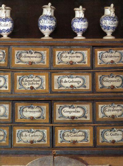 speciesbarocus:     18th-century pharmacy