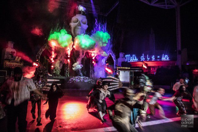Review HHN6 USS Halloween Horror Nights Ticket Price Universal Studios Singapore Sentosa