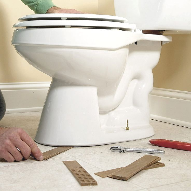 If Your Toilet Isn T Solidly Fastened To The Floor There May Be Trouble In Your Future Any Move Toilet Repair Toilet Diy Plumbing