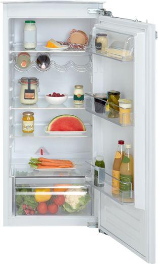 Inbouw koelkast zonder vriesvak met deur-op-deur montage en soft-close. Met automatisch ontdooisysteem, elektronische temperatuurregeling en LED display.