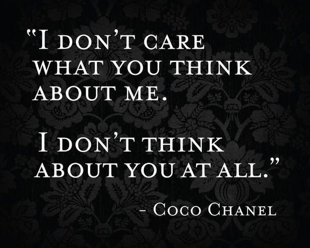 coco chanel, girl, lol, quote, quotes - inspiring picture on Favim.com