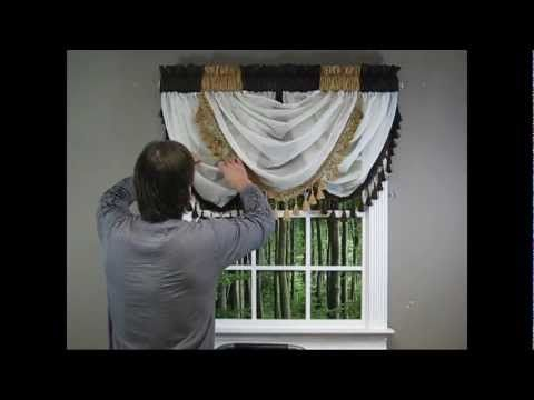 10 best images about curtains and valance on pinterest for Confeccion cortinas