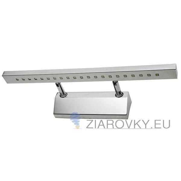 Moderné LED 5W nástenné svietidlo vysokej kvality určené do kupeľne, wc, kuchyne a pod. Má funkciu okamžitého rozsvietenia