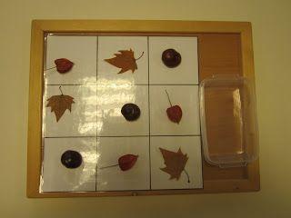 mamamisas welt: Sudoku mit Naturmaterialien